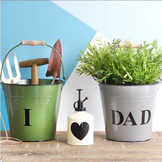 Gardening Buckets And Mister Set