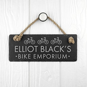 Personalised Bike Design Slate Sign