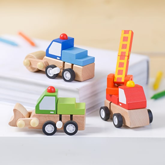 Personalised Wind Up Truck Toy