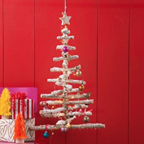Flat Packed Ply Wood Christmas Tree