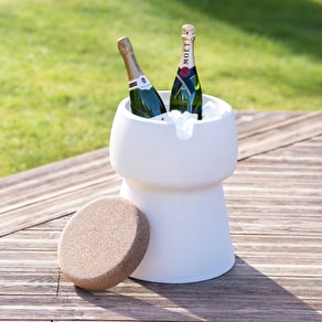 Champagne Stool Ice Bucket