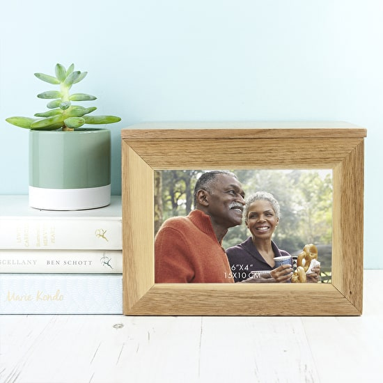 Personalised Wedding Photo Keepsake Box