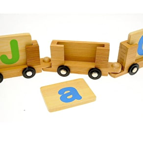 Eco Wood Name Train