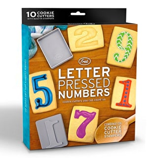 Letter Press Number Cutters