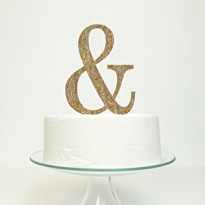 Personalised Mr And Mrs Cake Topper