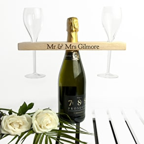 Welsh Ash Champagne Holder