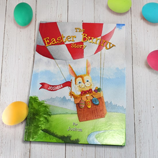 Personalised Easter Bunny Name Book