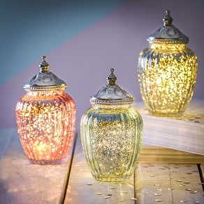 Sparkle LED Jam Jar Light