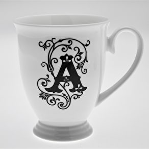 Personalised Alphabet China Mug