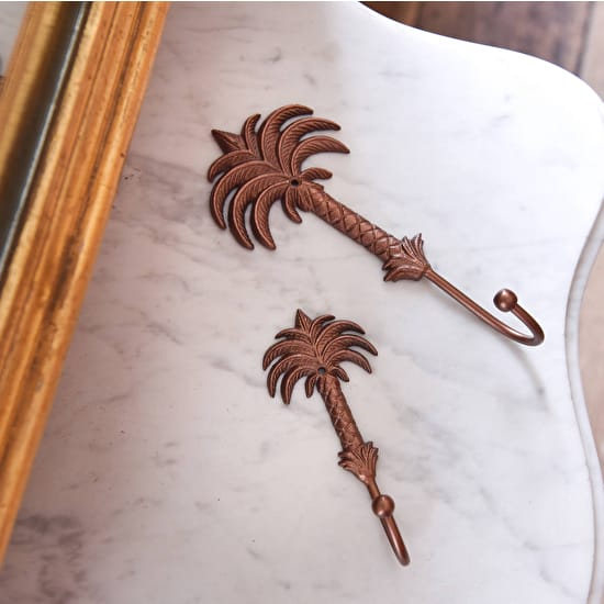 Palm Tree Metal Hooks