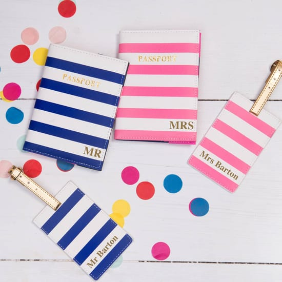 Honeymoon Passport And Luggage Tag Set