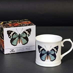 Bone China Butterfly Mug