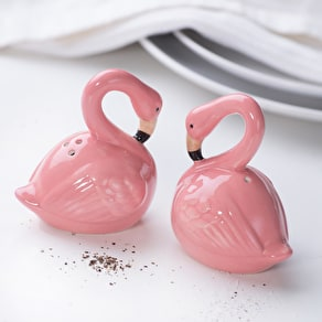 Flamingo Salt And Pepper Pots