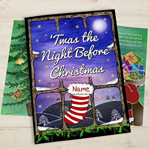 A Personalised Book Of St Nicholas