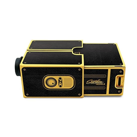 Smartphone Projector 2.0 Black And Gold