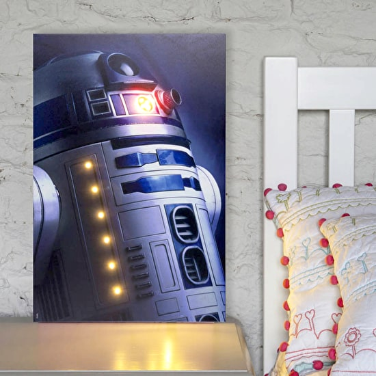Star Wars 'Photo Style' Light Up Canvas
