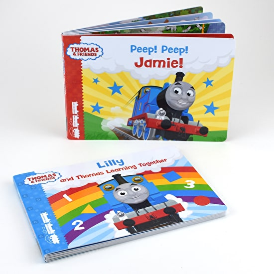 Personalised Gift Boxed Thomas Books