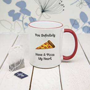 'Pizza My Heart' Mug