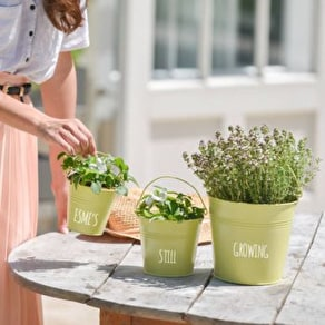 Personalised Metal Garden Buckets