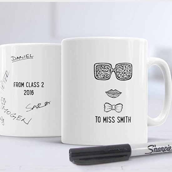 Female Teacher Message Mug