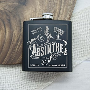 Monogram Hip Flask