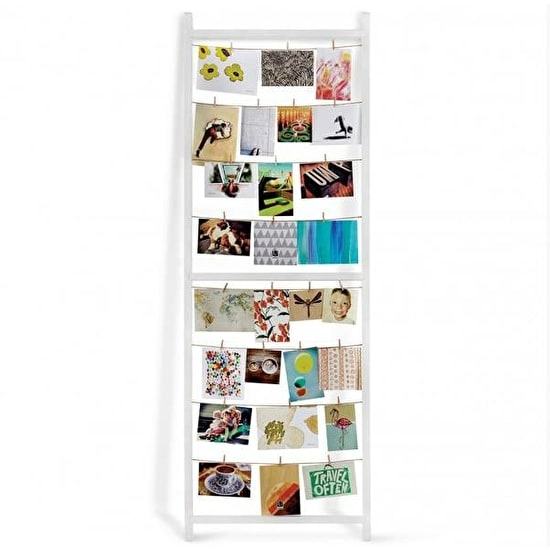 Clothes Line Style Floor Standing Photo Display