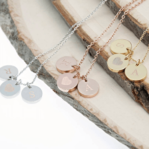 Personalised Love Birds Necklace And Keepsake