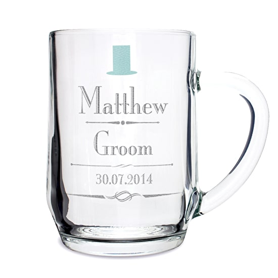 Personalised Wedding Tankard