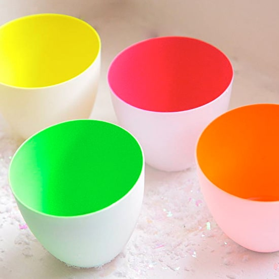 Neon Pop Porcelain Votive Holder