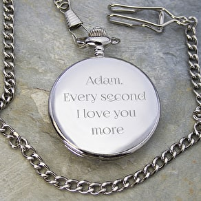 Personalised Valentine Pocket Watch