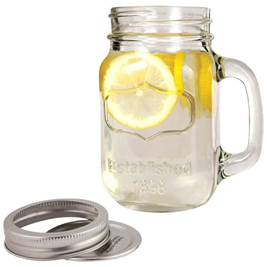 Glass Mason Jar Holder