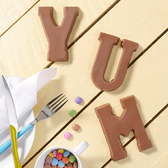 Boxed Chocolate Letters