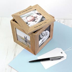 Instagram Photo Cube Keepsake Box