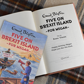 Personalised Five On Brexit Island Book