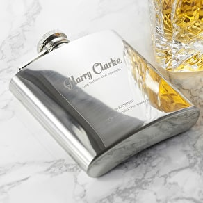 Best Man' Hip Flask