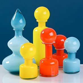 Bold Shaped Glass Vases