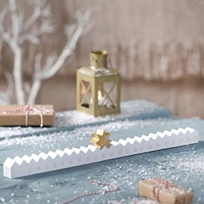 Wooden Advent Calendar And Star