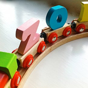Bright Alphabet Train