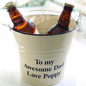 Personalised Gardeners Gift Bucket