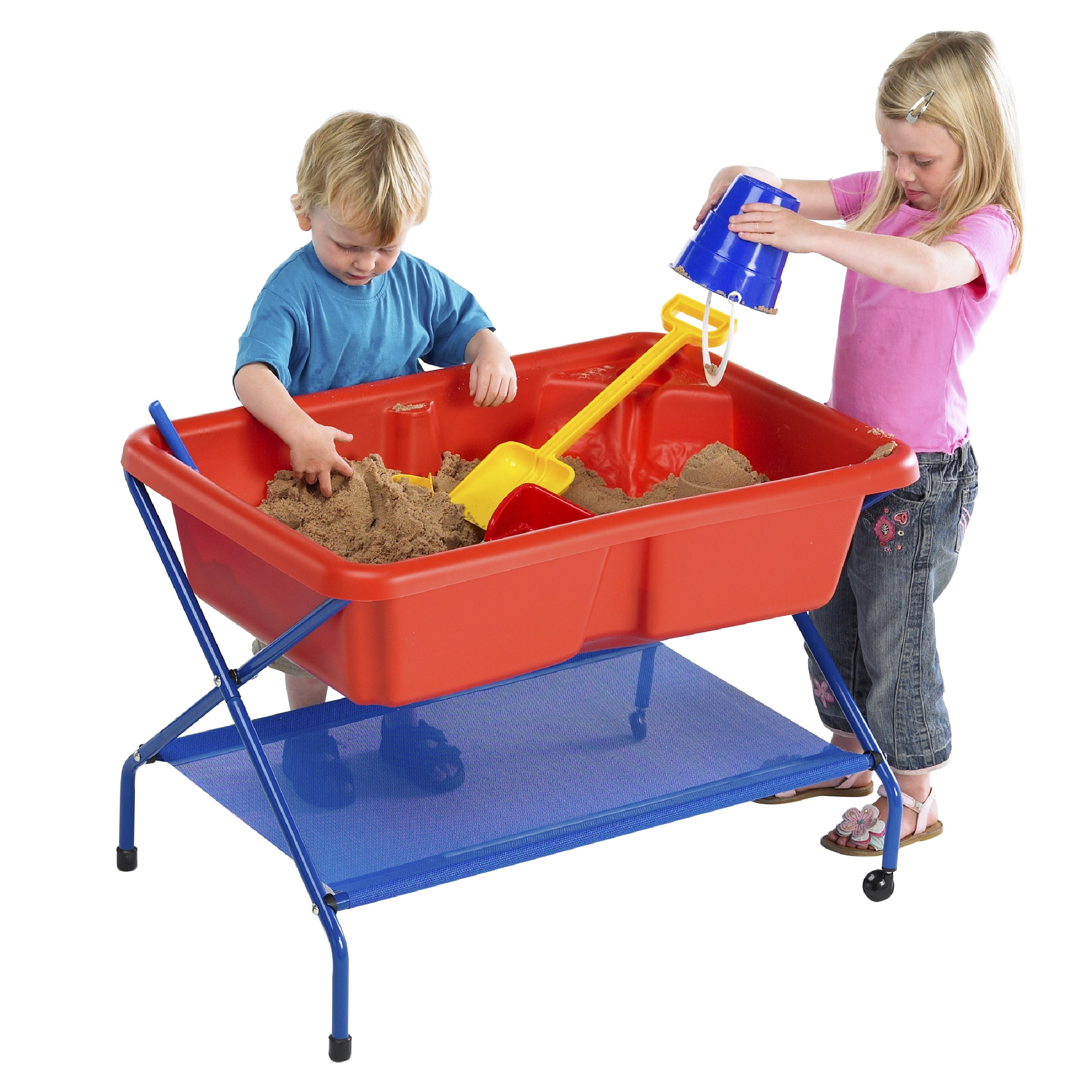 water play table tp rockface sand amp water tray set 28933