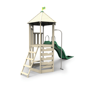 TP Castlewood Tower with CrazyWavy Slide