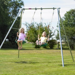 TP Double Giant Swing Frame with Deluxe Swing Seats